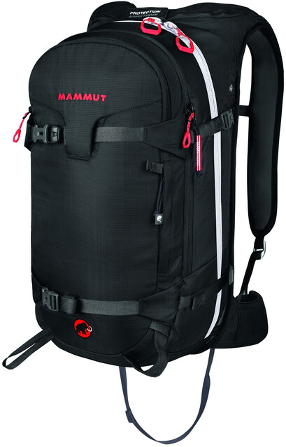 Mammut Klettergurt Maße : Mammut ride protection airbag backpack l black campz